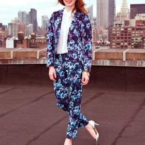 Ann Taylor Moody Floral Pants